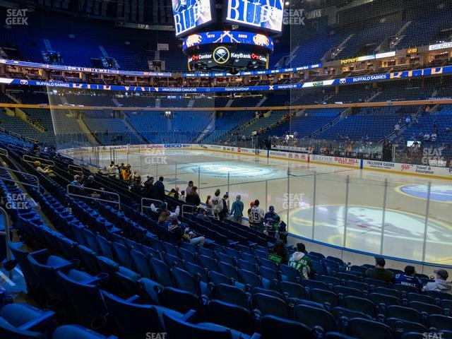 KeyBank Center Section 114 view