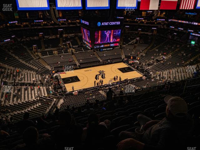AT&T Center Section 210 view