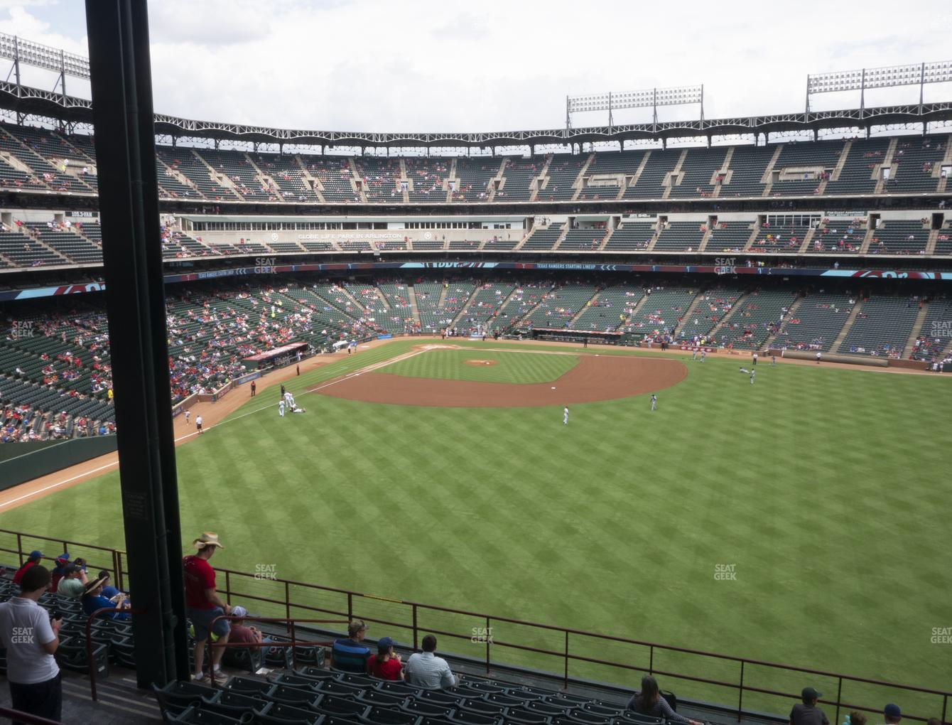 Concert at Globe Life Park Section 250 View