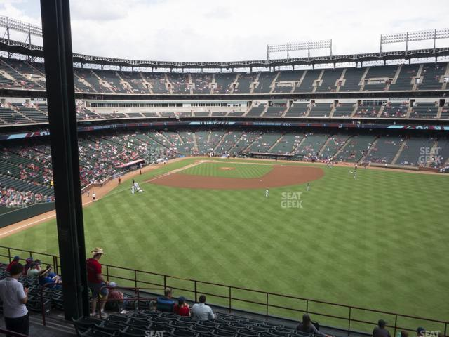 Globe Life Park Section 250 view