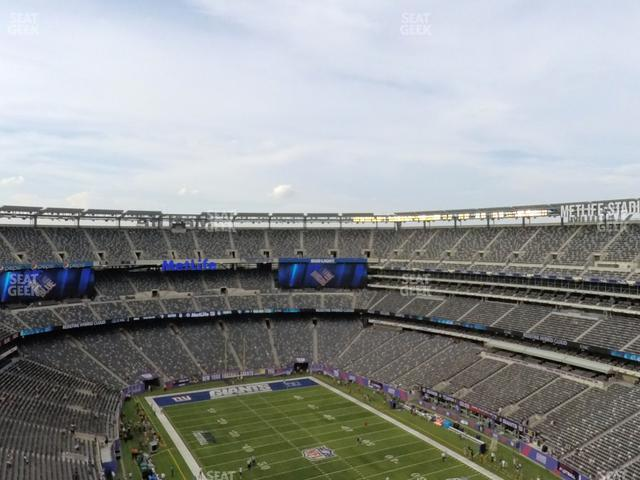 MetLife Stadium Section 330 view