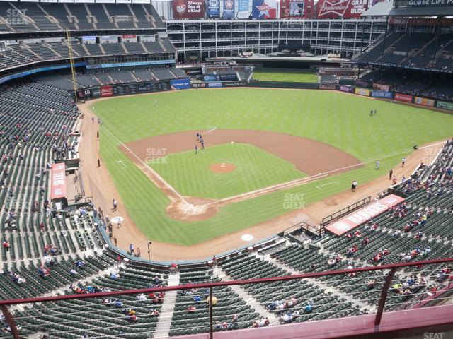 Globe Life Park Section 328 view