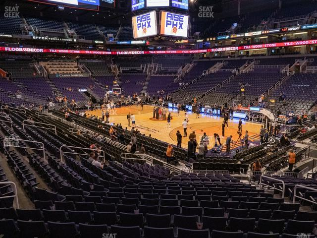 Talking Stick Resort Arena Section 111 view