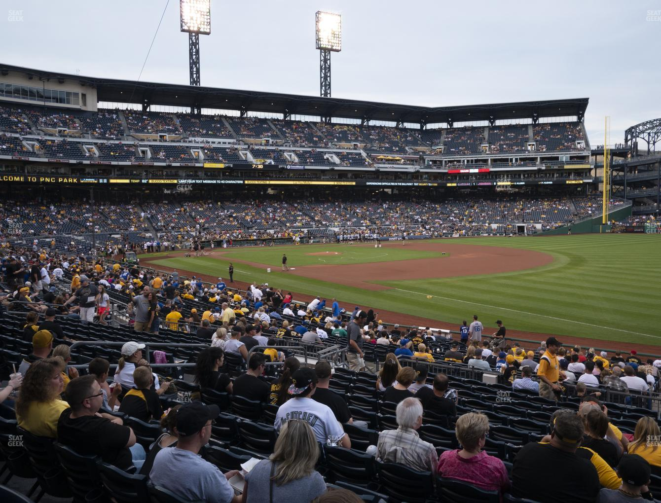 Pittsburgh Pirates at PNC Park Section 103 View