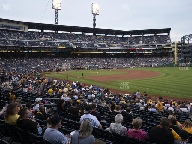 PNC Park Section 103 view