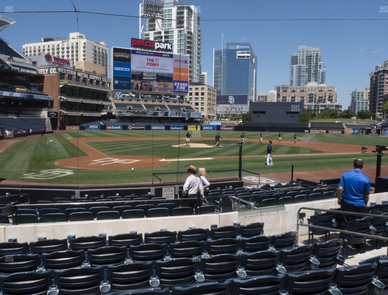 San Diego Padres at Petco Park Section 103 View