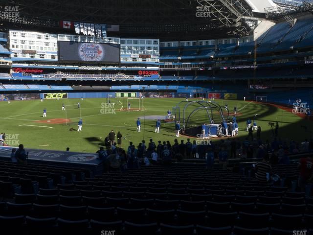 Rogers Centre Section 124 R view