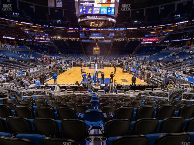 Amway Center Section 110 view