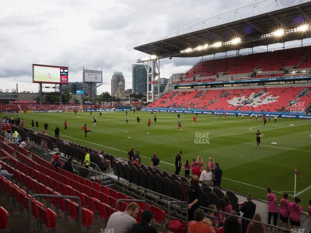 BMO Field Section 119 view