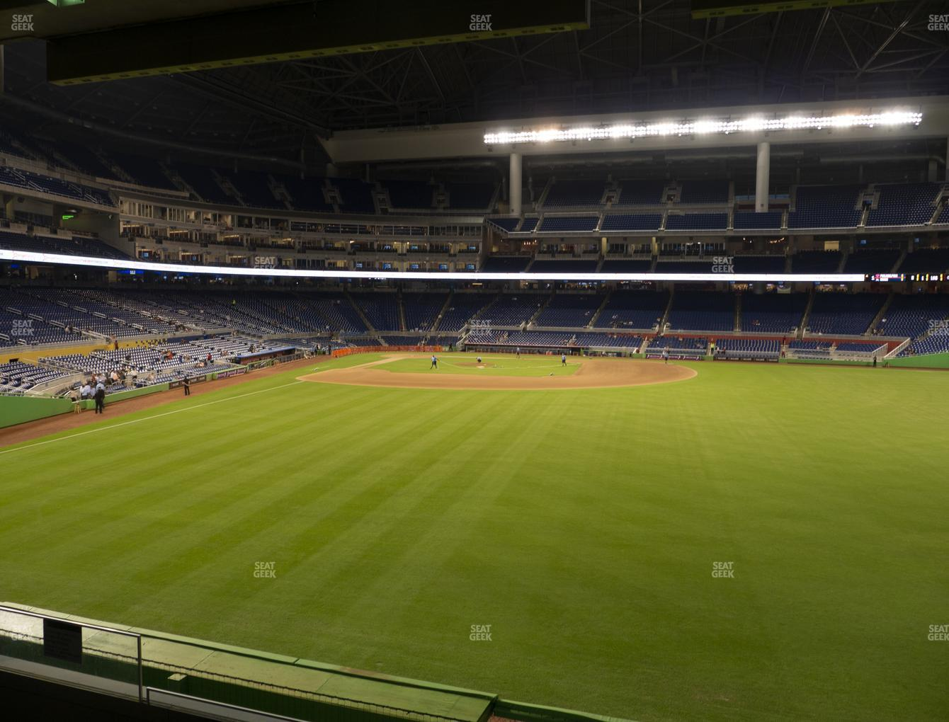 Miami Marlins at Marlins Park Section 38 View
