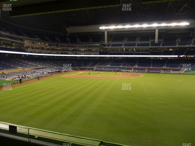 Marlins Park Section 38 view