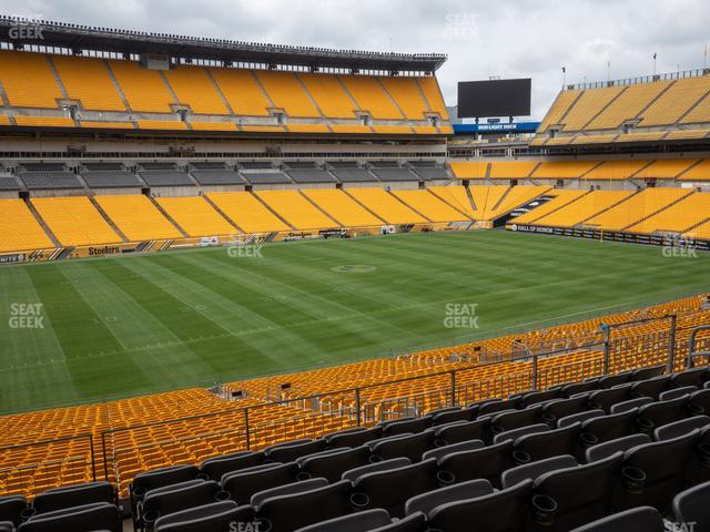 Heinz Field Section 207 view