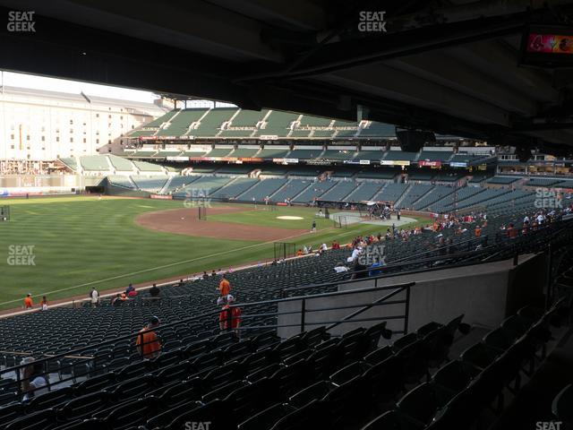 Oriole Park at Camden Yards Section 67 view