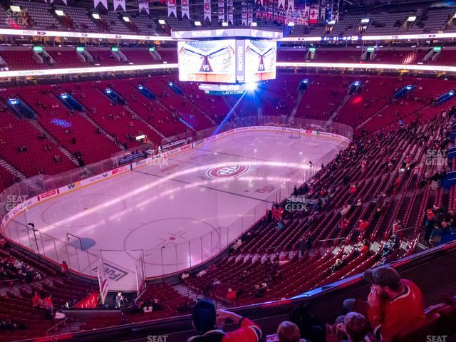 Bell Centre Section 217 view