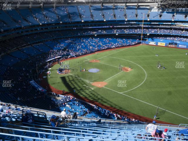 Rogers Centre Section 514 R view