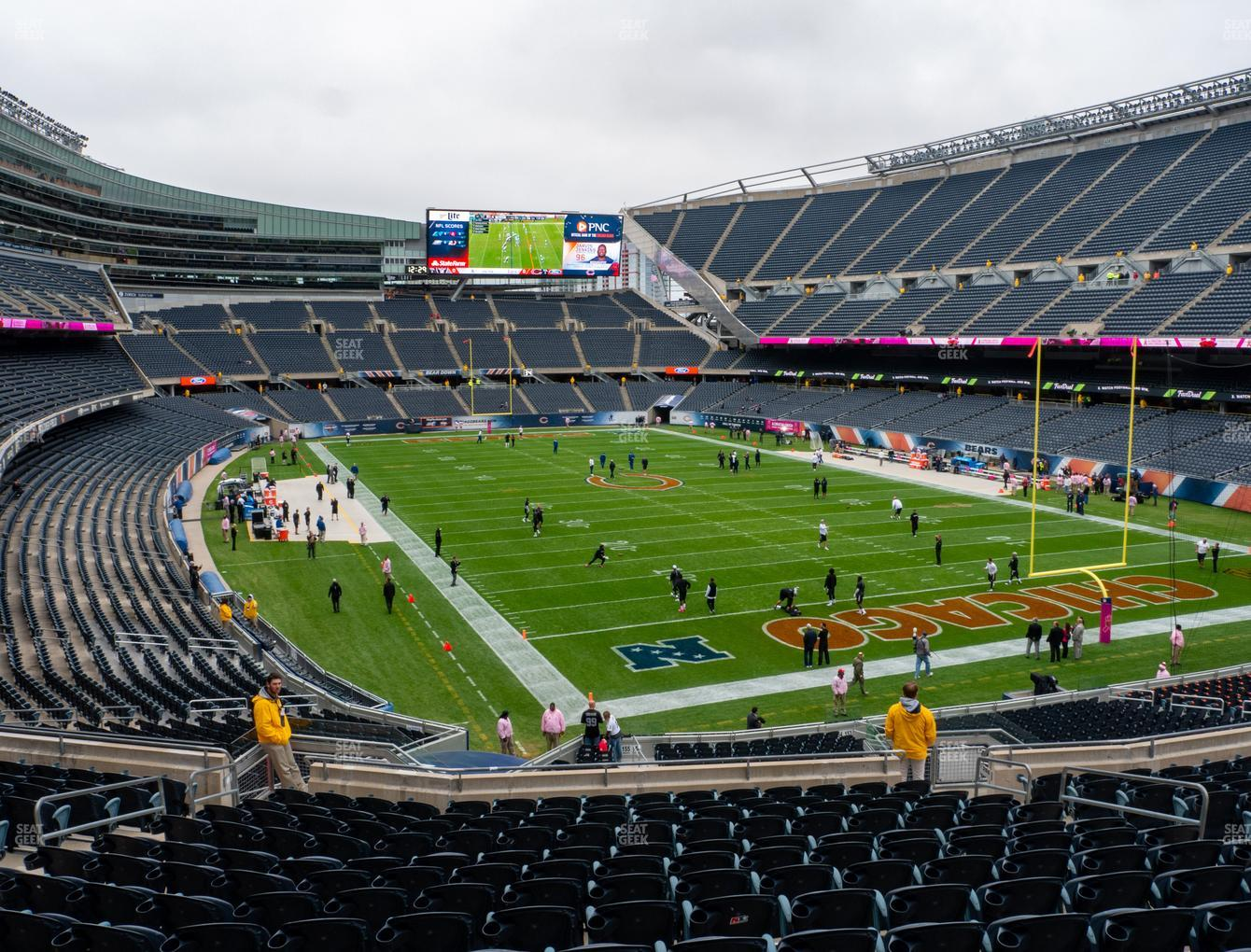 Chicago Bears at Soldier Field Section 255 View