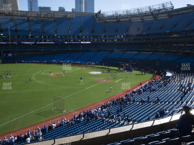 Rogers Centre Section 236 R view