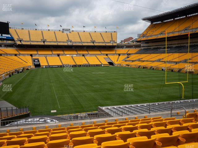 Heinz Field Section 145 view