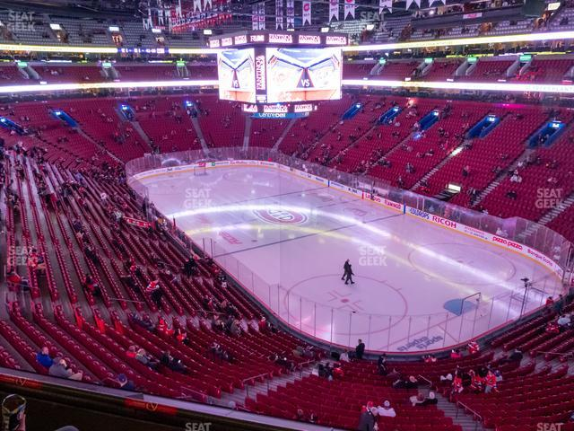 Bell Centre Section 221 view
