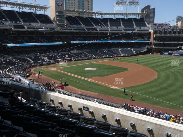 Petco Park Section 215 view