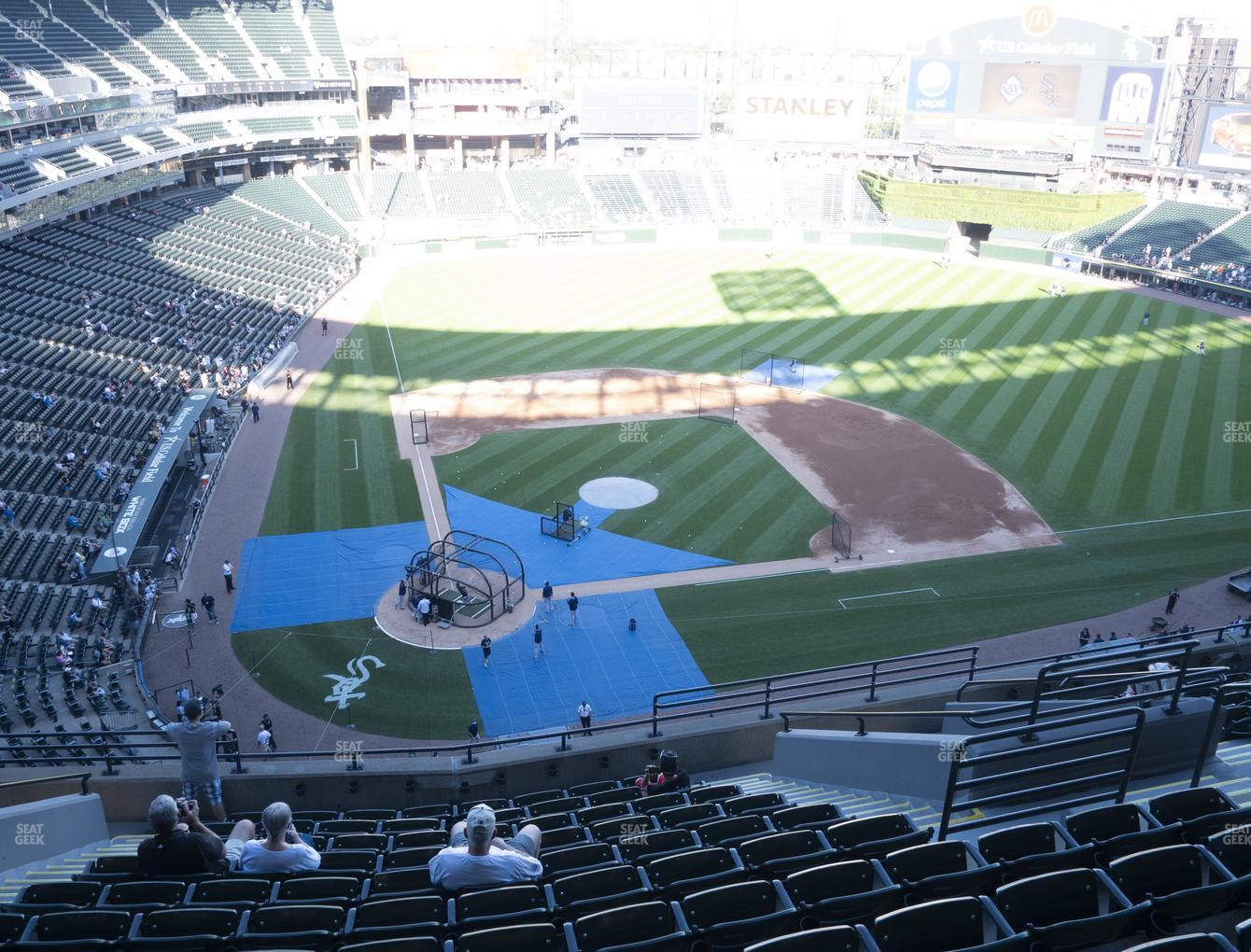 Chicago White Sox at Guaranteed Rate Field Section 528 View