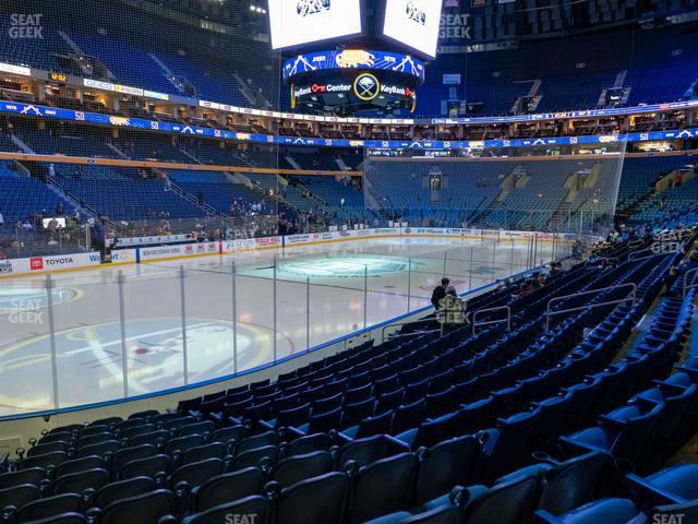 KeyBank Center Section 120 view
