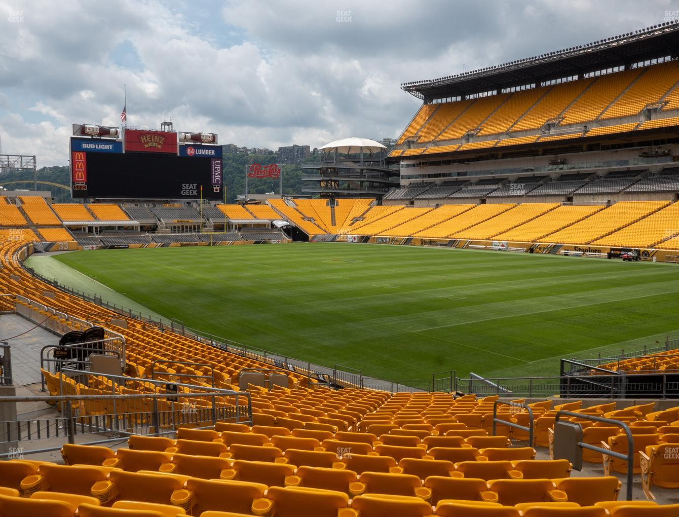 steelers stadium seating chart rows - Bamil