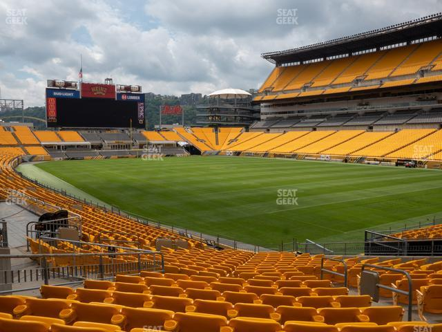 Heinz Field Section 118 view