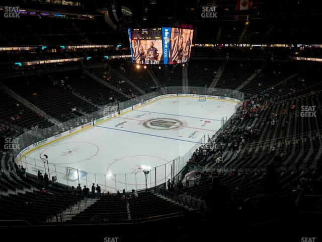 T-Mobile Arena Section 104 view