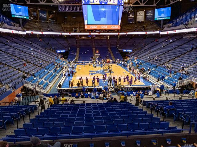 Rupp Arena Section 40 view