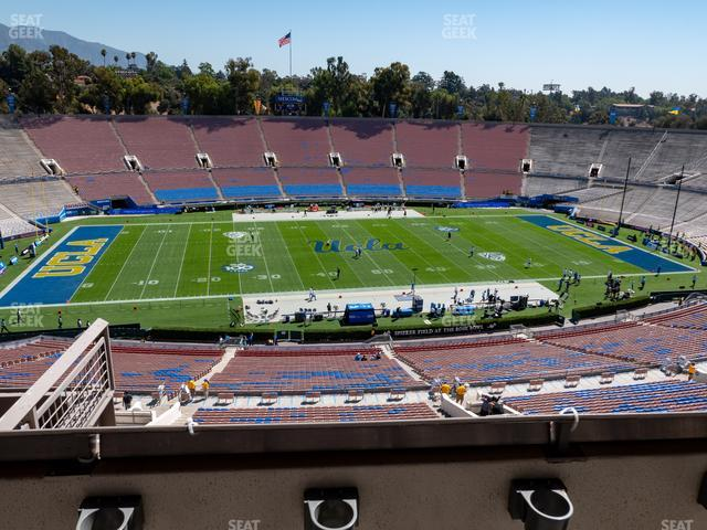 Rose Bowl Section Club 208 view