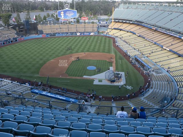 Dodger Stadium Section Top Deck 11 view