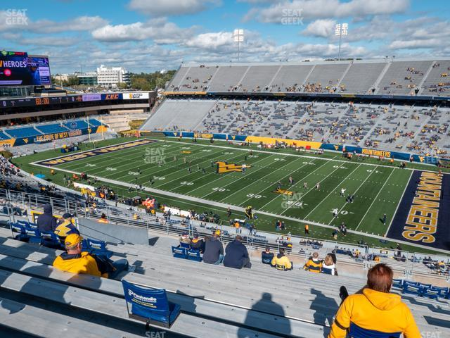 Mountaineer Field at Milan Puskar Stadium Section 220 view