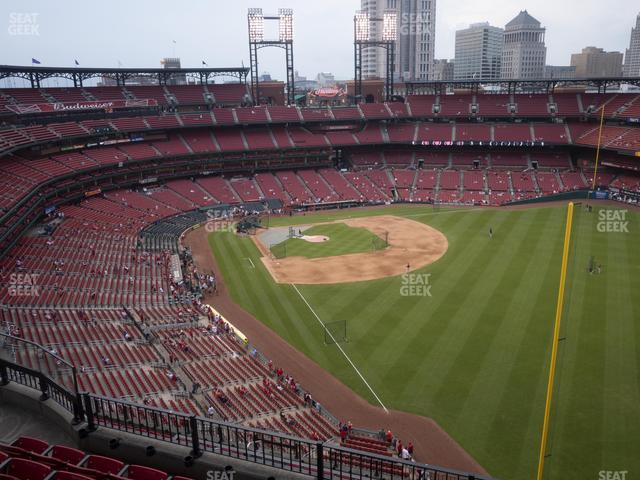 Busch Stadium Right Field Terrace 431 view