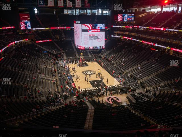 State Farm Arena Section 216 view