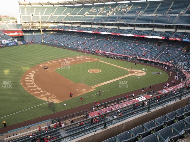Angel Stadium of Anaheim Section 410 view
