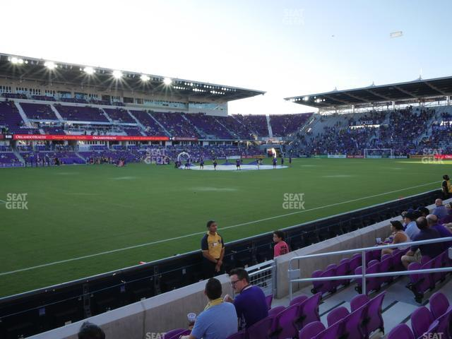 Exploria Stadium Section 37 view