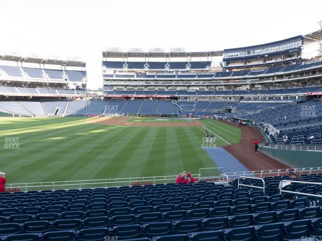 Nationals Park Section 105 view