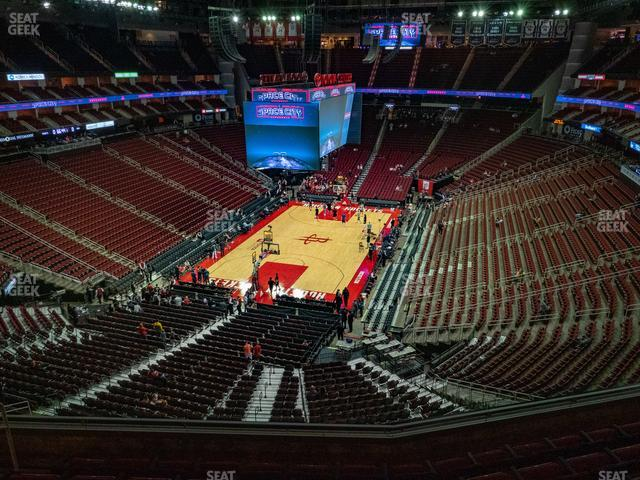 Toyota Center Section 433 view