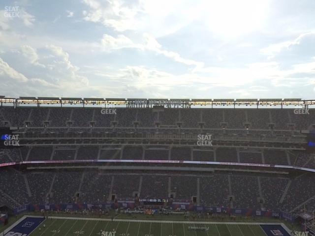 MetLife Stadium Section 313 view