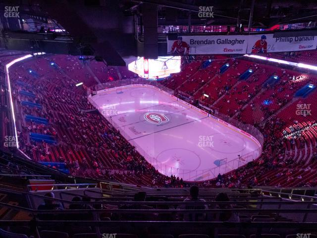 Bell Centre Section 413 view