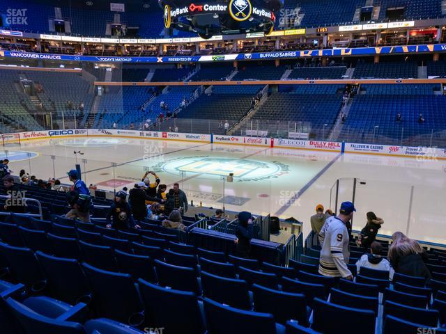 KeyBank Center Section 104 view