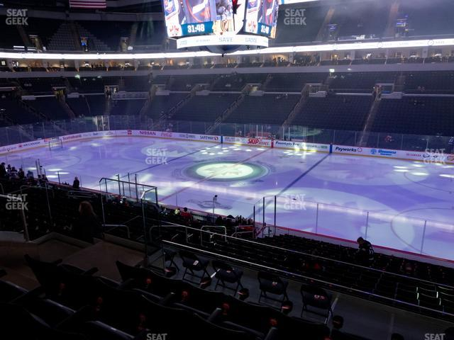 Bell MTS Place Section 217 view