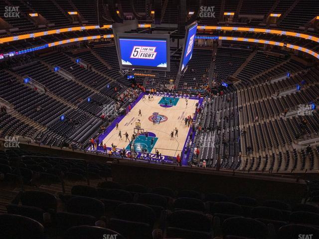 Vivint Smart Home Arena Section 120 view