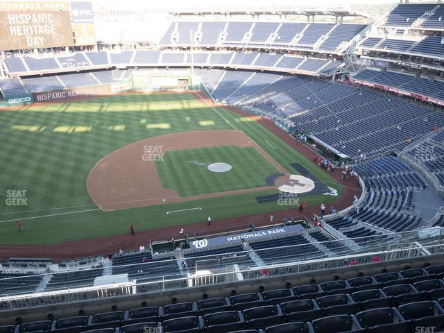 Nationals Park Section 407 view