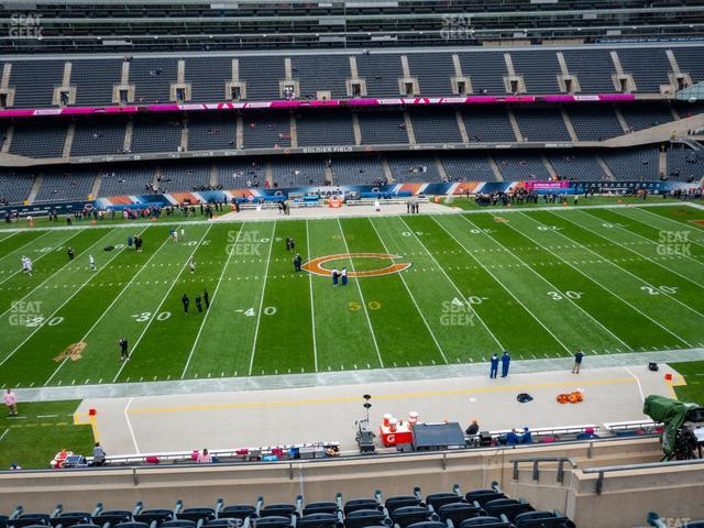 Soldier Field Section 338 view