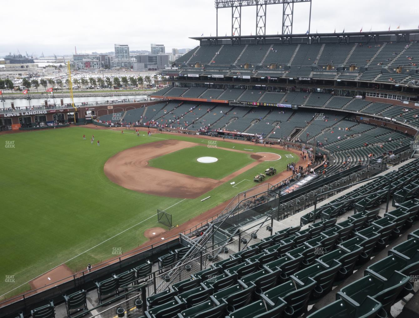 San Francisco Giants at Oracle Park Section 330 View