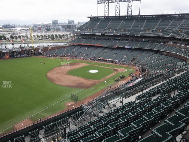 Oracle Park Section 330 view