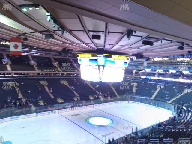 Madison Square Garden Section 208 view