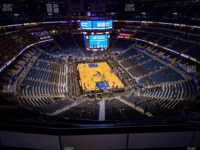 Amway Center Section 218 view